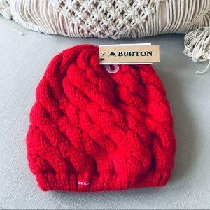 NWT Burton women's hat beautiful coral color